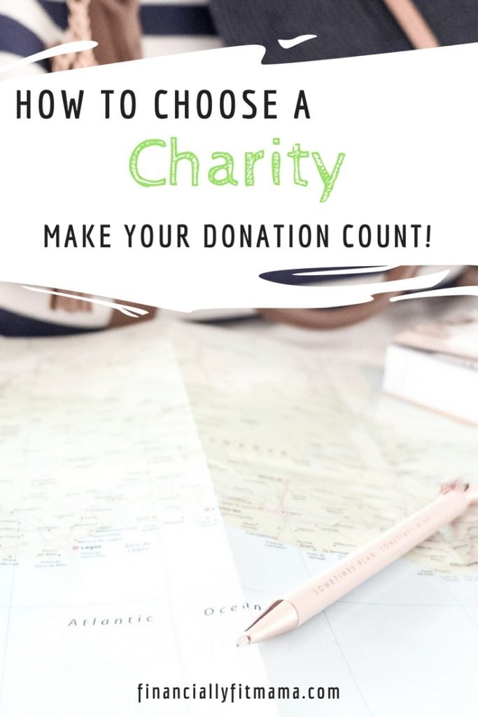 Make your donation count when you choose a charity #charity #donation #volunteer