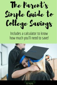 An easy to follow guide to college savings